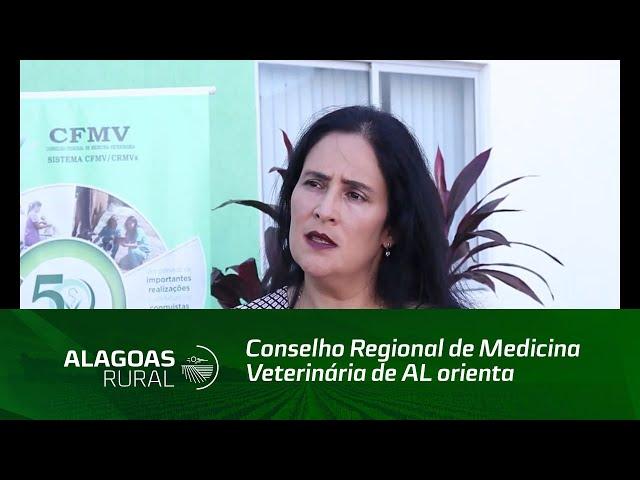 Conselho Regional de Medicina Veterinária de AL orienta profissionais durante a pandemia