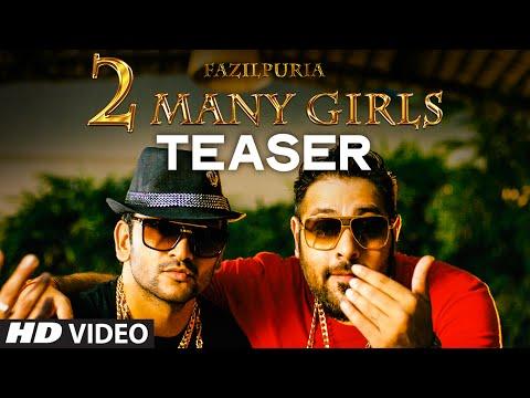 2 Many Girls Song Teaser | Fazilpuria, Badshah | T-Series