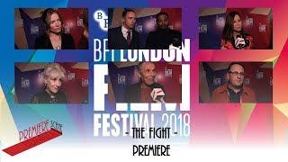 The Fight - BFI LFF  Interviews - Jessica Hynes, Anita Dobson, Jason Maza, Noel Clarke