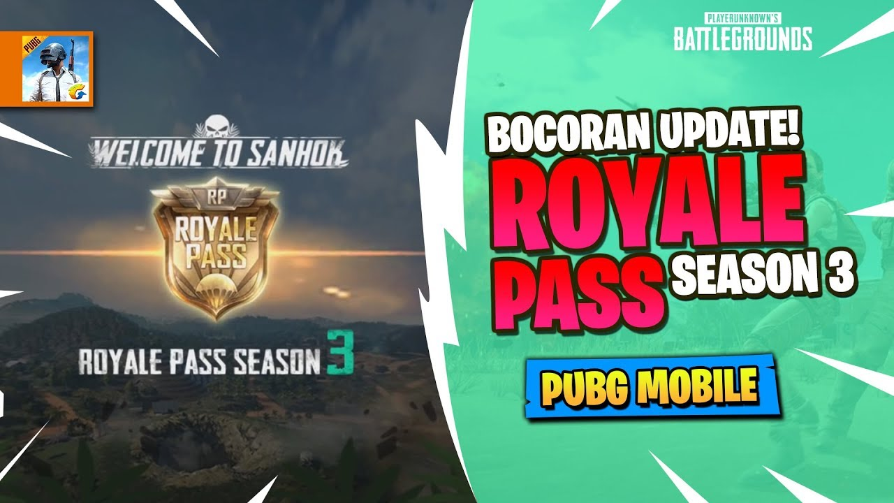 Bocoran Update Royale Pass Season 3 Pubg Mobile Indonesia