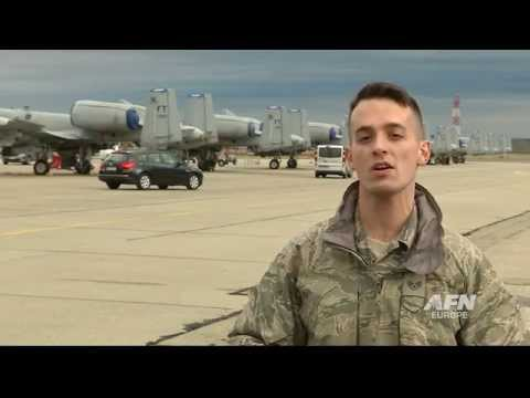 A-10s forward deploy to Papa Air Base, Hungary