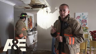Live Rescue: Busted Pipe FLOODS Apartment (S3) | A&E