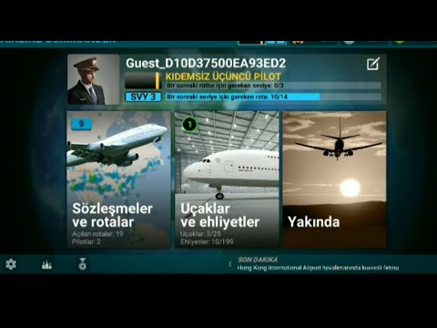 Android De En Iyi Ve Gerçekçi Uçak Simülatörü