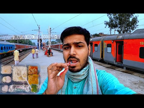 36 Hours Train Journey in LTT Patna Janta Express *Yadav ji ka khana*