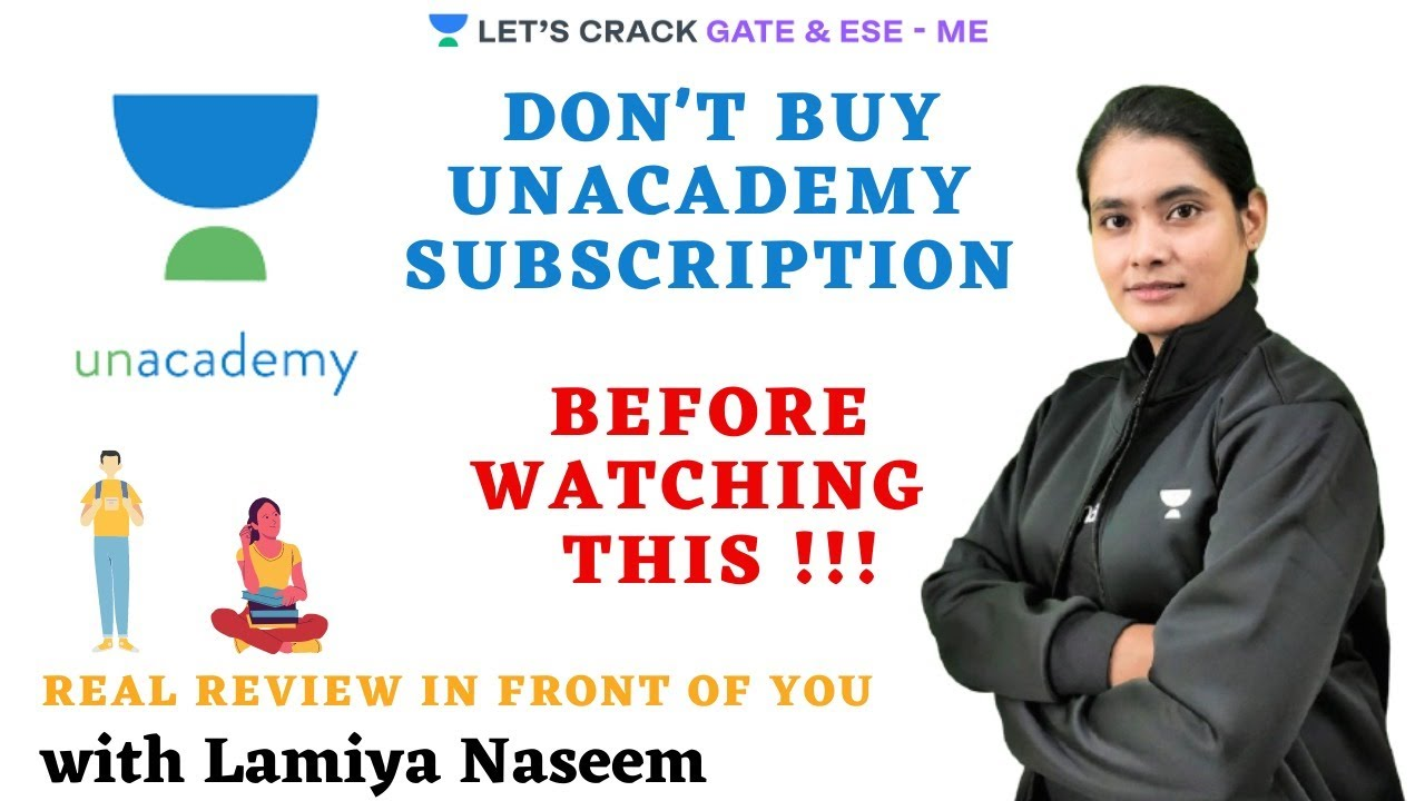 DON'T BUY UNACADEMY SUBSCRIPTION BEFORE WATCHING THIS !!!  | GATE & ESE 2021 |  Lamiya Nase