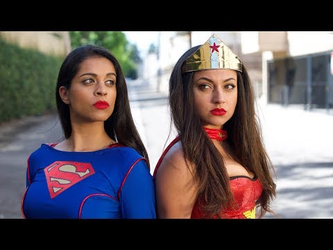 "Thumbnail: Wonder Woman vs. Superwoman | Inanna Sarkis & Lilly ""IISuperwomanII"" Singh"