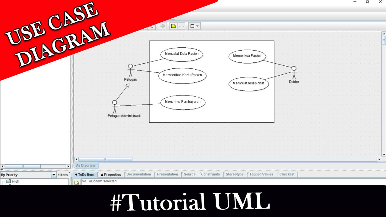 Tutorial UML - Use Case Diagram Sistem Administrasi dan ...