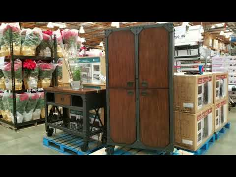 Costco! Whalen 72 in Industrial Wood Metal Cabinet! $289!!!