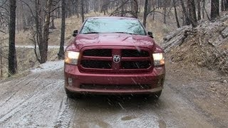 tflcar truck rewind we get the new 2013 ram 1500 very muddy and wet