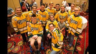 'It's a great day to be a Bronco':  Humboldt survivors together again