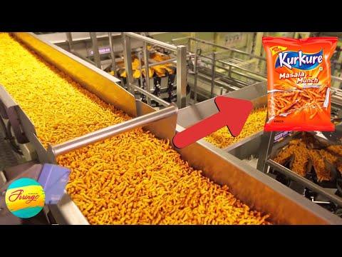 आखिर Factory में कैसे बनते हैं Kurkure ?   5 Amazing Food Manufacturing Factories   Food Factory