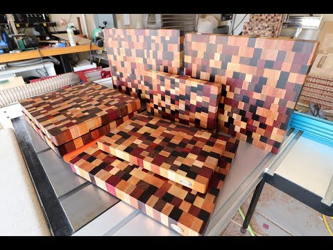 Cutting Boards From *Mostly* Scrap Part 2