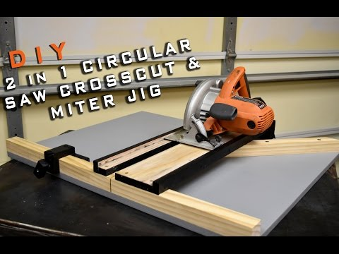 2 In 1 Circular Saw Crosscut & Miter Jig | Limited Tools Episode 003