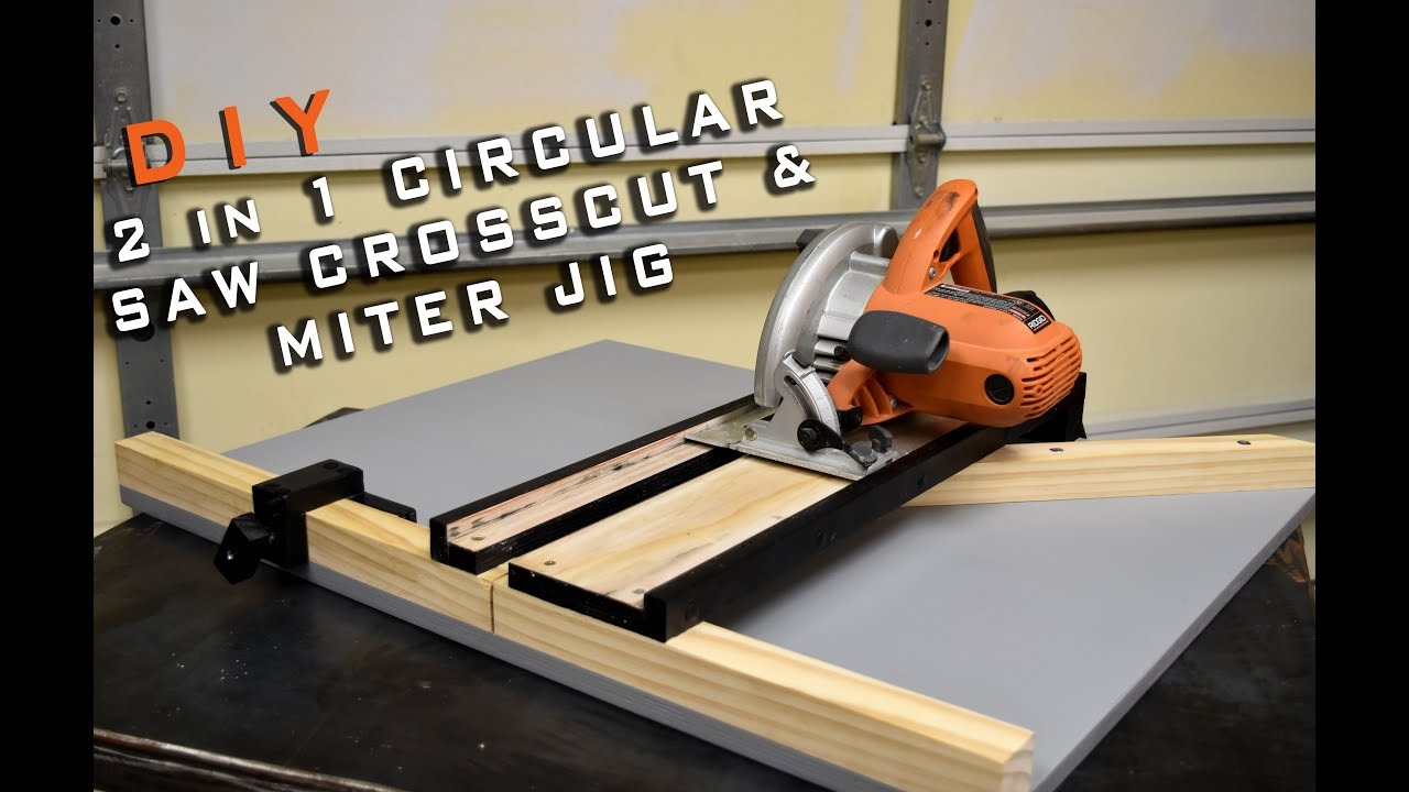 2 In 1 Circular Saw Crosscut \u0026 Miter Jig | Limited Tools Episode ...