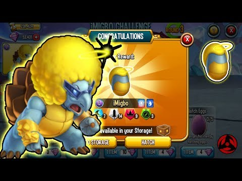 🔴Monster Legends: IMigbo Challenge Get Egg Rank5 🔥 Review Combat Level 130
