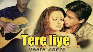 Tere Liye - Veere Zaara |• Fingerstyle | Sugi Sugandi