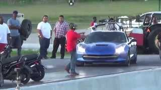 Randy's blue z51 vs 15 z06