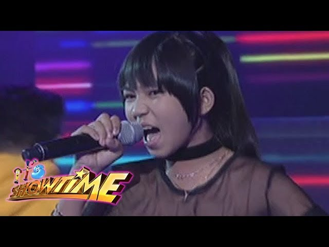 It's Showtime: Jona Soquite sings Just Dance