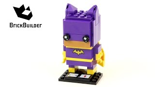 Lego BrickHeadz 41586 Batgirl - Lego Speed Build