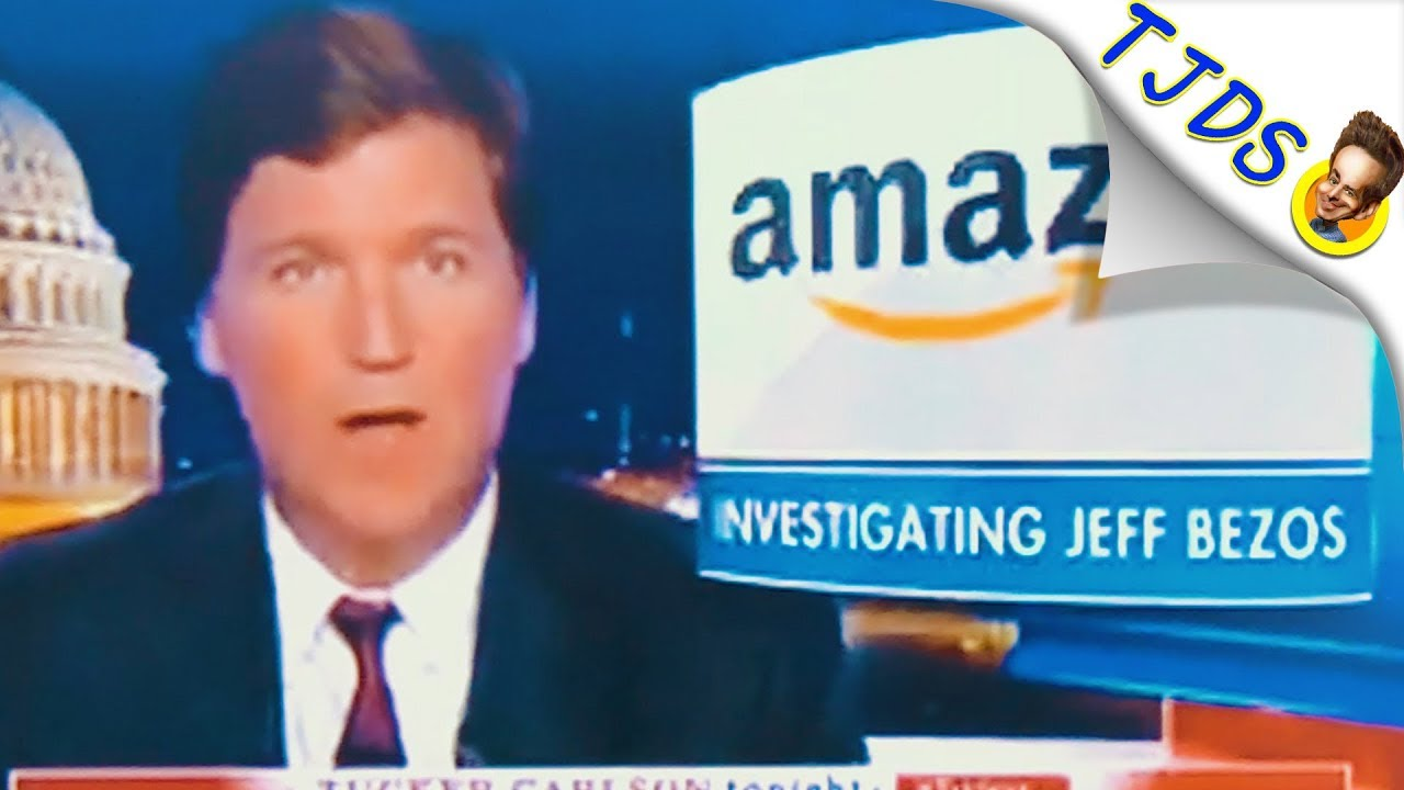 "Tucker Carlson Destroys Amazon & Jeff Bezos' Business ""Practices"" w/Abby Martin"