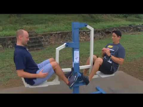 Outside Hawaii workout-This Channel is sponsored by Max Muscle Hawai'i