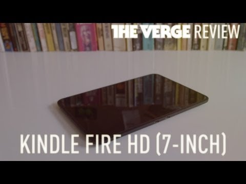 Amazon Kindle Fire HD (7-inch) review