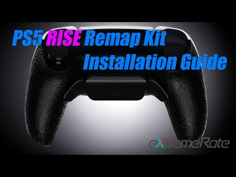 eXtremeRate PS5 DualSense Controller Rise Remap Kit Instalaltion Guide - BDM 010 Version