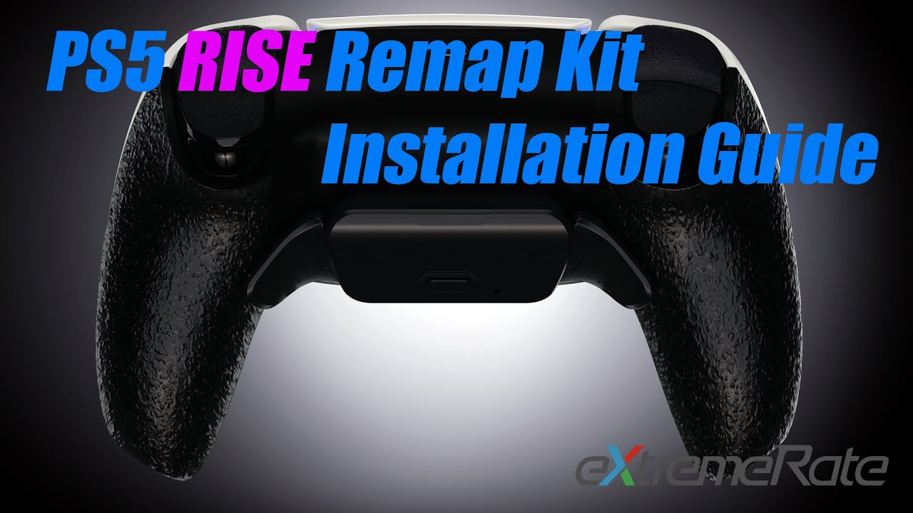 eXtremeRate PS5 DualSense Controller Rise Remap Kit Instalaltion Guide