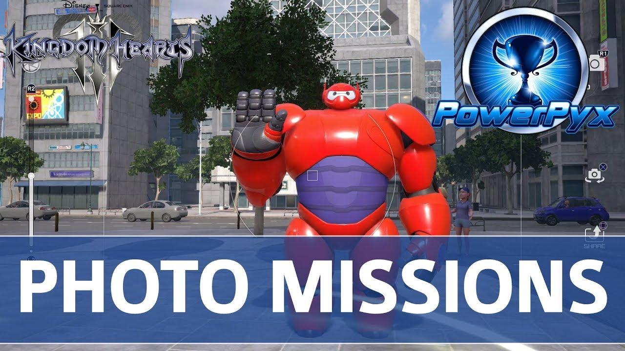 Kingdom Hearts 3 Moogle Photo Missions Locations