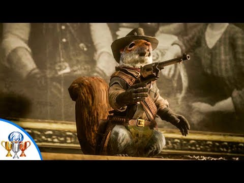 Red Dead Redemption 2 It's Art Trophy - All Hunting Request Carcasses, All Squirrel Statue Locations