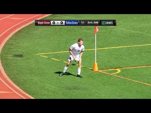 Totino-Grace Vs. Maple Grove Boys High School Soccer