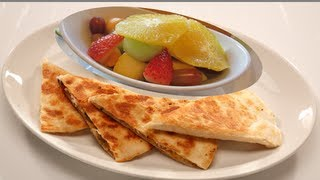Lunch Box: Veggie Quesadilla Recipe Video By Bhavna