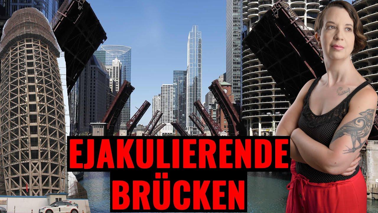 Toxische Männlichkeit: Hochgeklappte Brücken ejakulieren in den Himmel