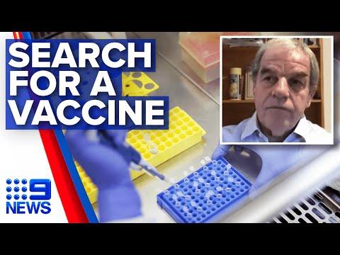 Coronavirus: Searching for a COVID-19 vaccine   Nine News Australia