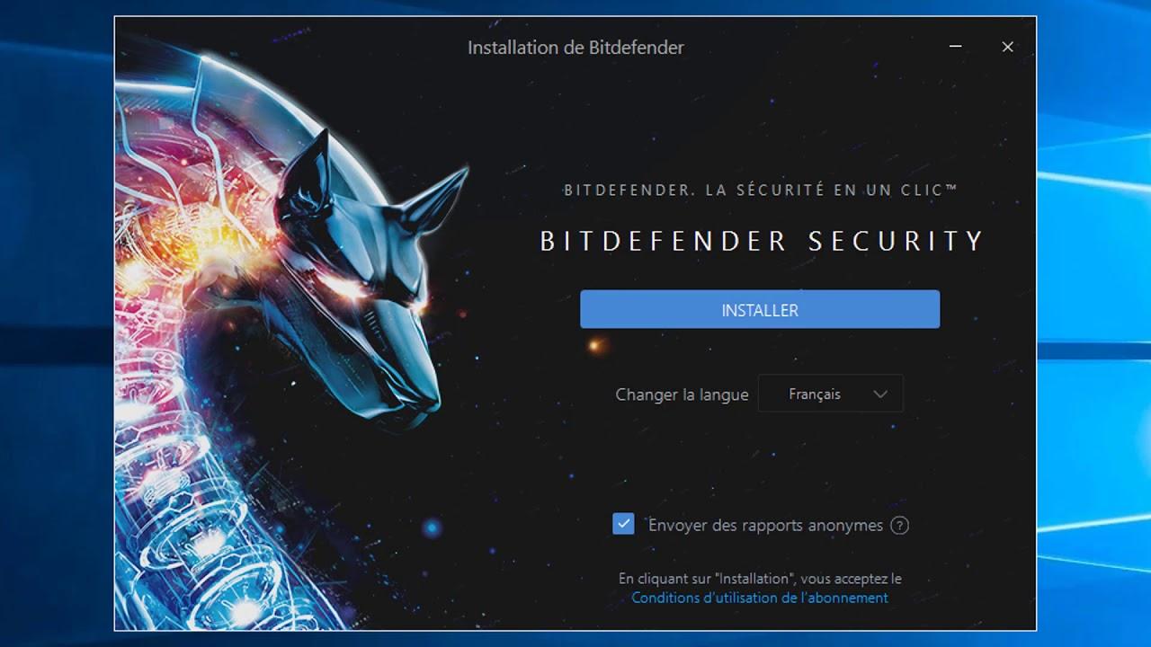 Comment installer Bitdefender 2018 sur Windows