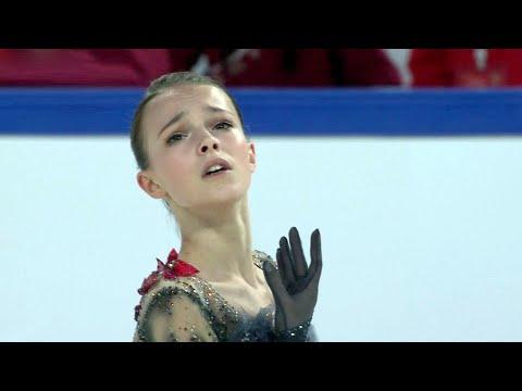 Анна Щербакова показала лучший результат в короткой программе! Короткая программа