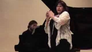 Patricia Edwards sings Brahms Lieder, part 2