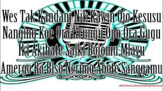 NDX A.K.A. -Suket Teki(Lyric)