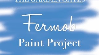 Painting & Cleaning A Fermob Bistro High Table- Thegardengates.com