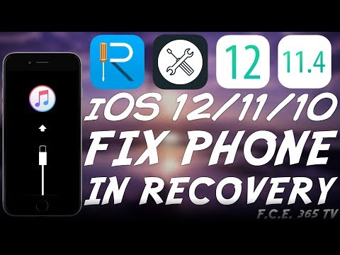 [ReiBoot] How To Fix Any iPhone / iPad / iPod Stuck In Recovery Mode (iOS 12 – iOS 7)