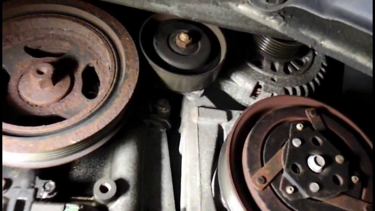 how to replace the alternator on a nissan maxima [ 1280 x 720 Pixel ]