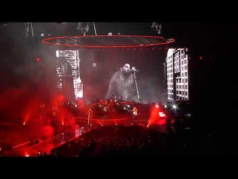 Queen + Adam Lambert Radio Ga Ga Live Stockholm Sweden Friends Arena 2017 11 21