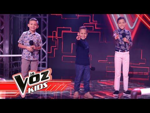 Sneider, Juan Pa y Fernando cantan 'Así fue mi querer' - Batallas  La Voz Kids Colombia 2021