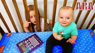 Ulya ولعبة ممتعة مع قرص لعبة