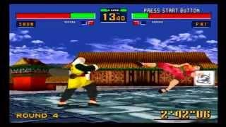 Virtua Fighter 2 Review-Sega Saturn