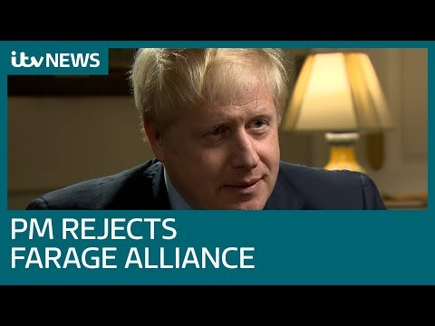 In full: Boris Johnson tells Robert Peston he rejects Trump's call for Farage alliance | ITV News