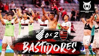 Athletico-PR 0 x 2 Flamengo - Bastidores