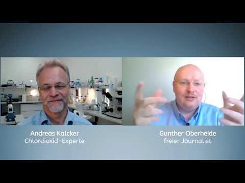 Im Gespräch mit Andreas Kalcker:  Chlordioxid - aktuelle Fakten