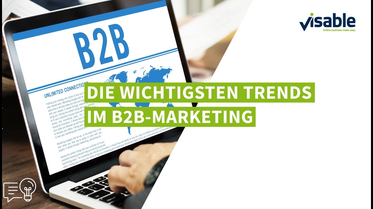 B2B Marketing: Die 7 wichtigsten Trends   Visable