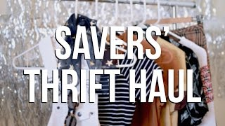 Savers' Thrift Haul | National Thrift Shop Day
